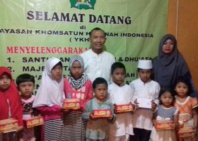 Kegiatan yayasan ykhi- khomsatun hasanah indonesia (2)