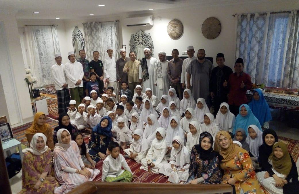 Undangan silaturahmi ke rumah  keluarga Bapak Dodi di citra Grand