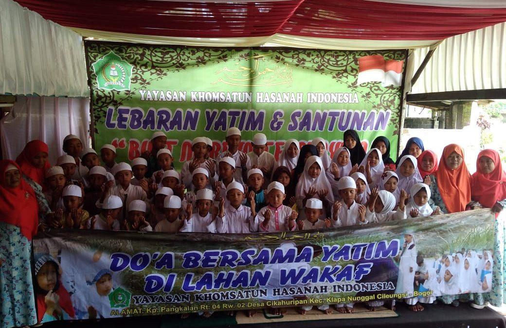 Lebaran Yatim Yayasan Khomsatun Hasanah Indonesia