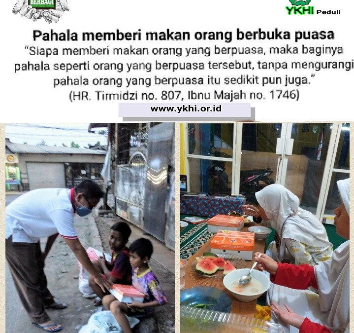 Memberi makan orang berbuka puasa